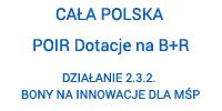 POIR, Działanie 2.3.2 Bony na innowacje dla MŚP.